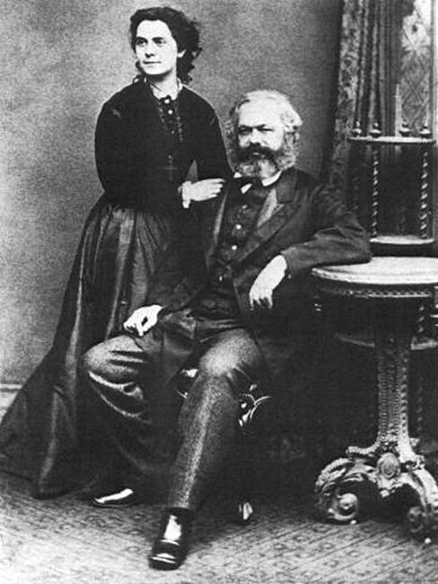 2 cartas de Jenny von Westphalen, esposa de Karl Marx y primera mujer en ingresar en la Liga de los Comunistas - varios formatos - Comentarios biográficos en los mensajes 90px-Marx1869